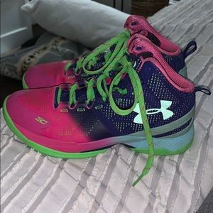 Stephen Curry under armor high tops